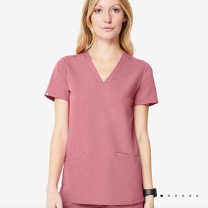Mauve Scrub Top Small